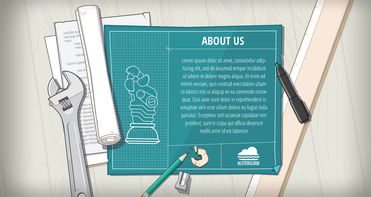 Alster Cloud Web Site - About Us section