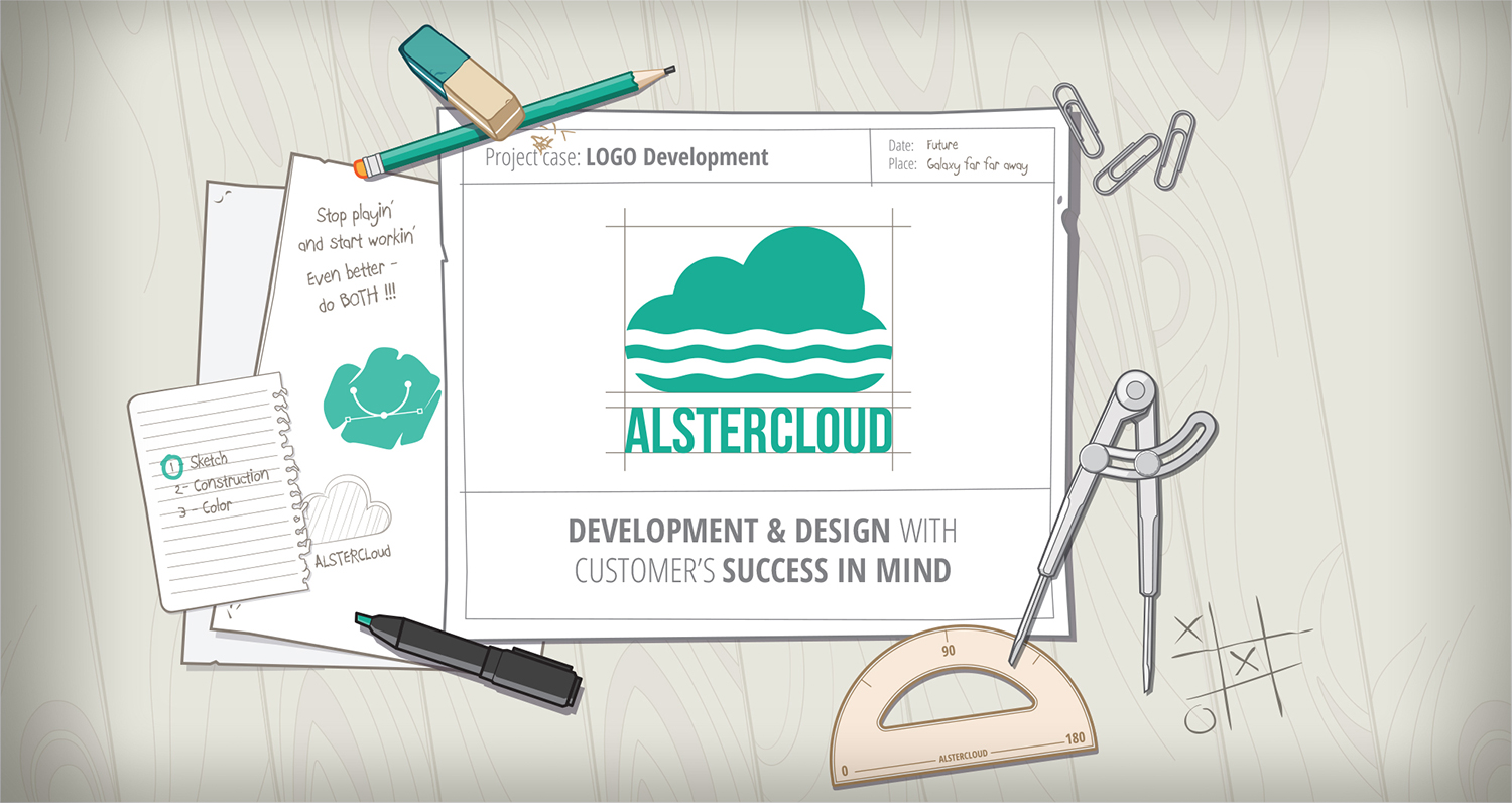Alster Cloud Web Site - Welcome Screen
